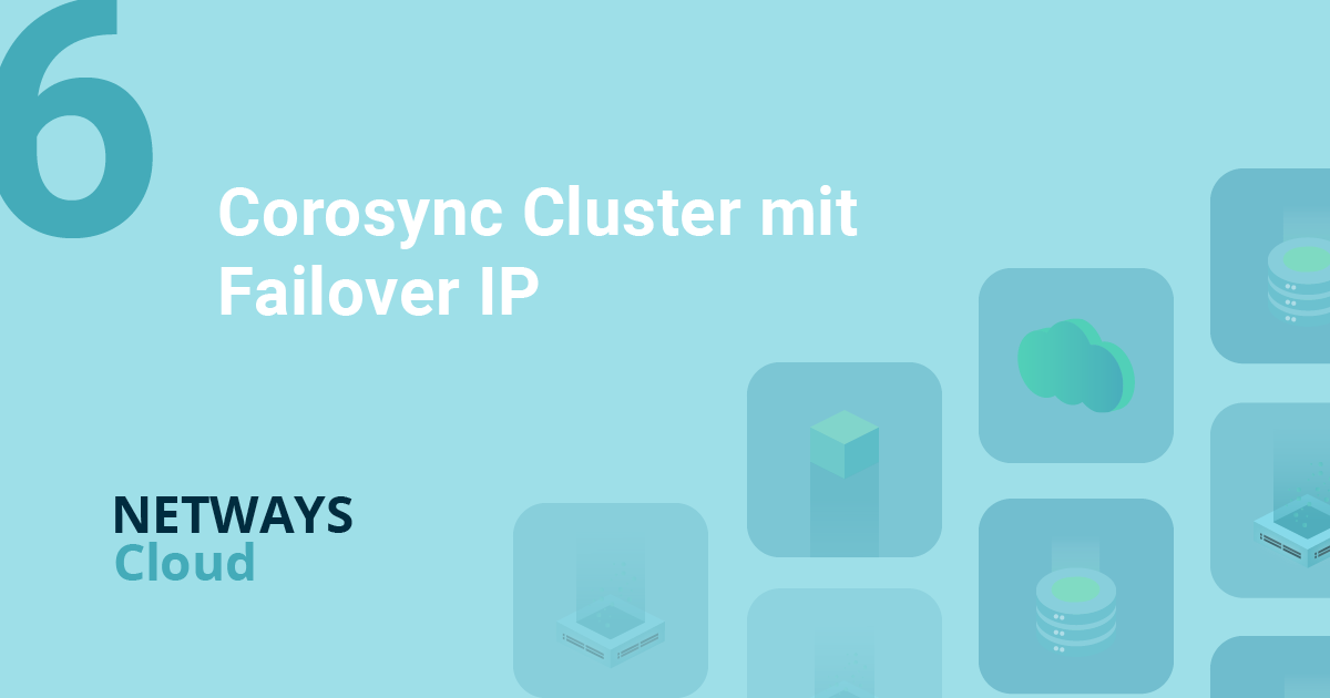 OpenStack made easy – Corosync Cluster mit Failover IP