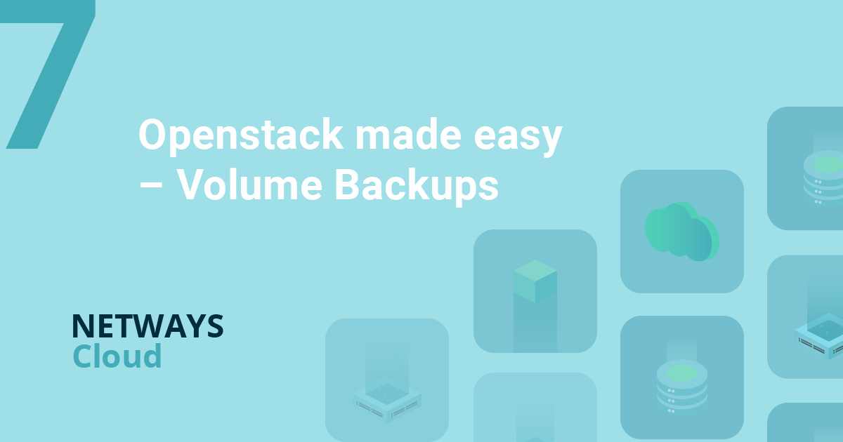 Openstack made easy – Volume Backups
