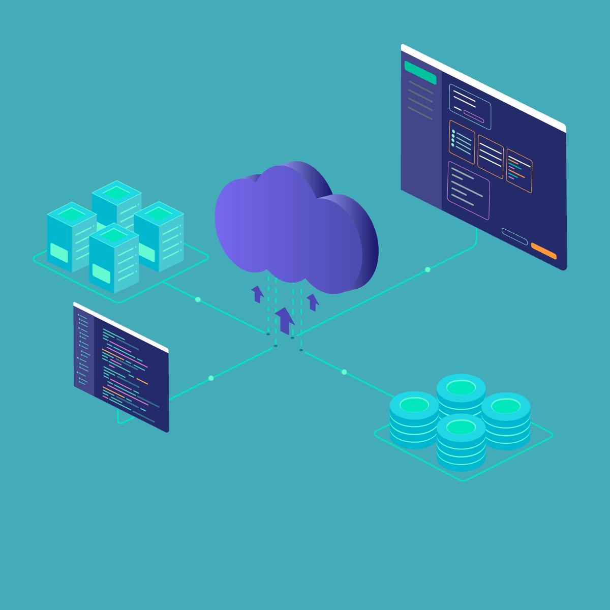 sichere Verbindung zwischen Cloud und virtuellen Maschinen